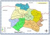 نقشه استان خراسان شمالی