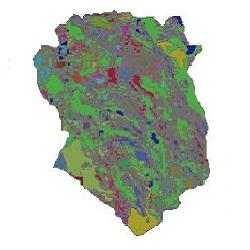 نقشه زمین شناسی استان خراسان جنوبی